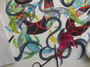 detail- water Snake #5