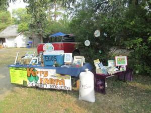 For sale - art, eggs, sunflower seeds