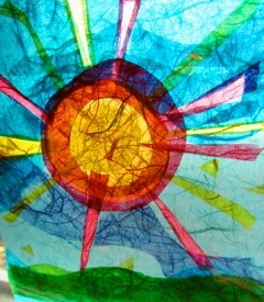 """Here Comes the Sun"", 8"" x 10"", Photo by Cherie Westmoreland. SOLD"
