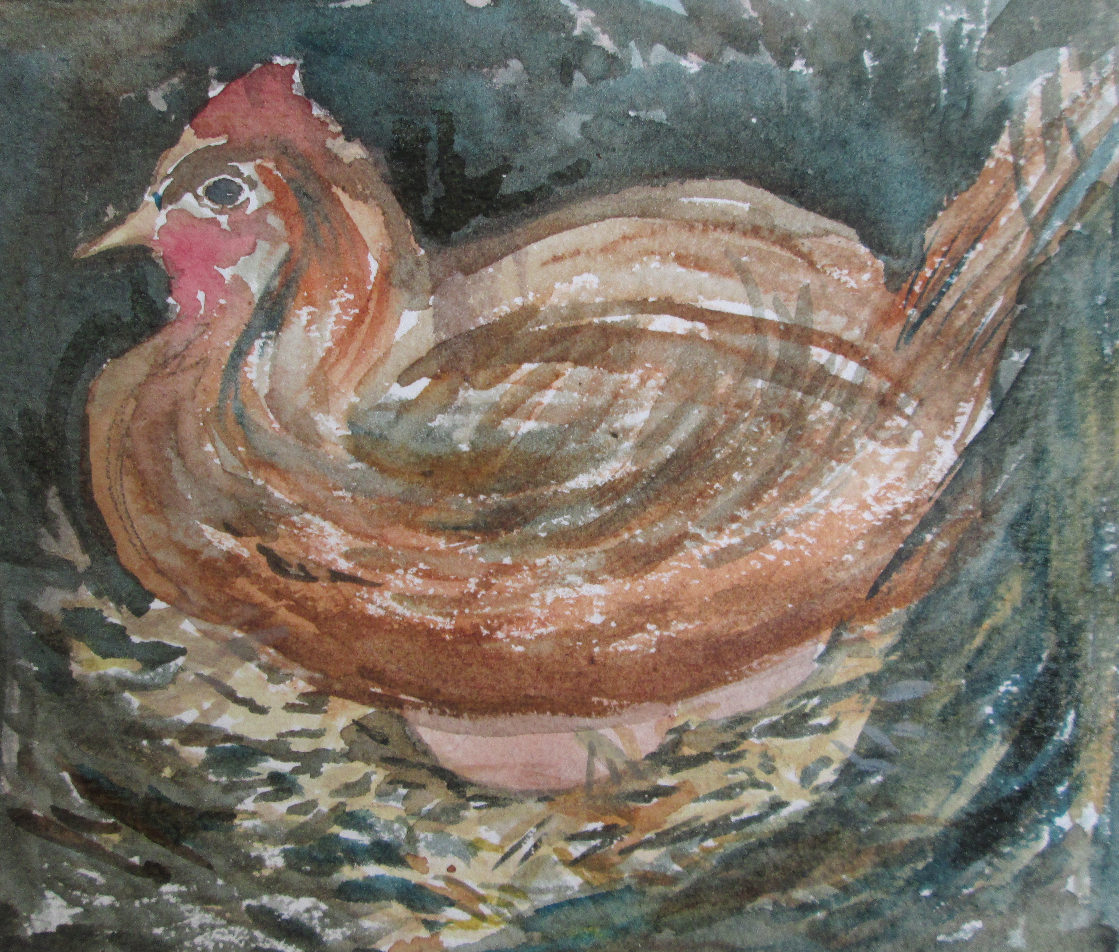 Teachings from a Laying Hen - Poached Egg Woman