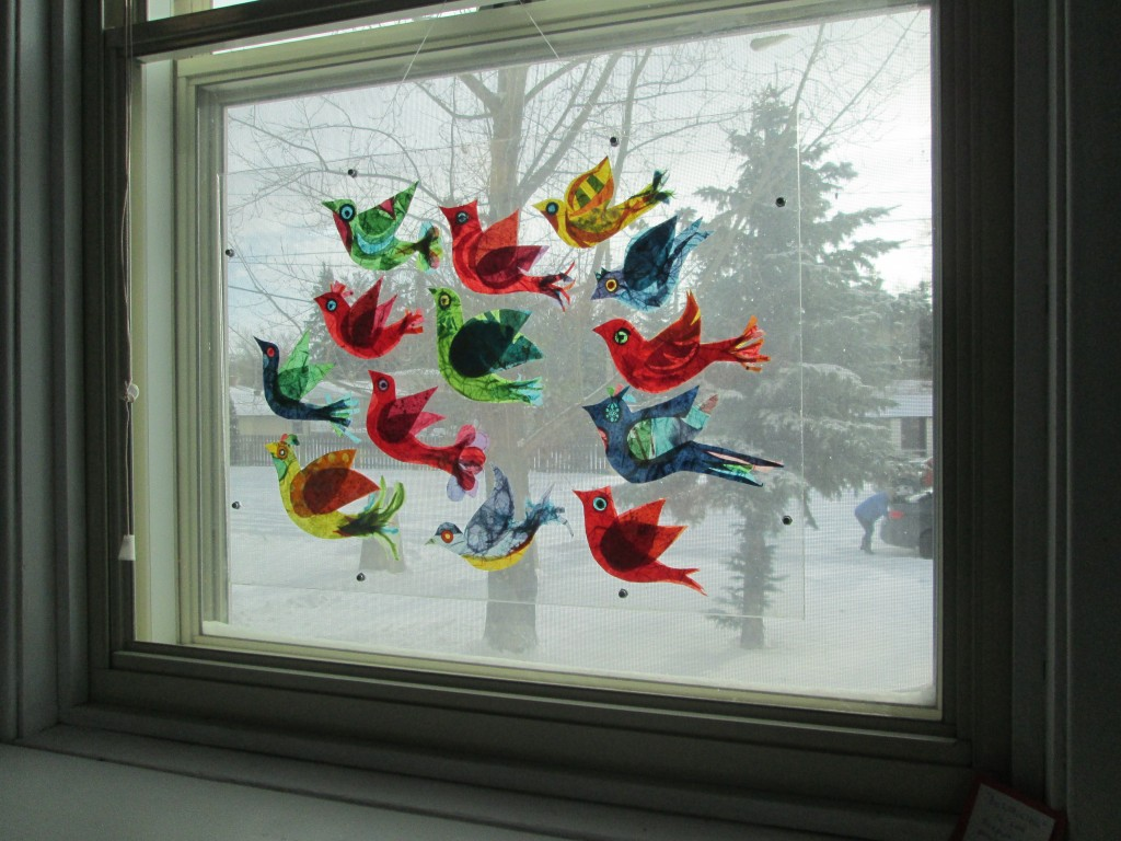 """beLONGING"", Rice Paper in Plexiglass. Currently loaned to Qu'Appelle Valley Centre for the Arts. (Price $250)"