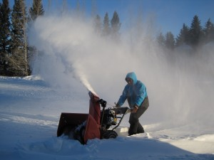Snowblower!