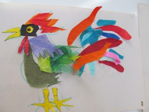 """Raggedy Rooster"" - this rooster's got attitude!"