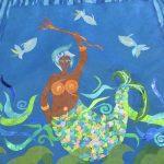 mermaid collage