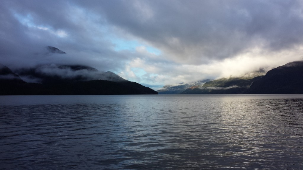 between Prince George and Prince Rupert