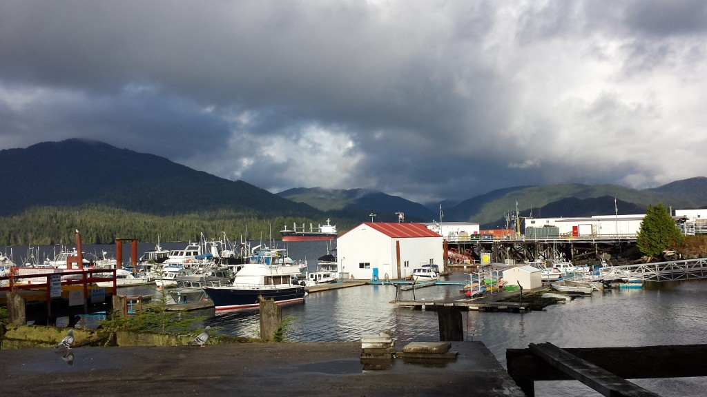 shifting sky at Prince Rupert